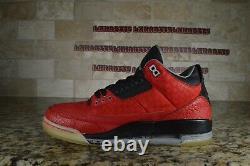 Nike Air Jordan 3 III Retro Doernbecher 2010 DB Red Black 437536-600 size 9.5