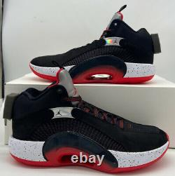 Nike Air Jordan 35 Retro XXXV CQ4227-030 Bred Black Red Silver Mens Size