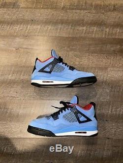 Nike Air Jordan 4 IV Retro Travis Scott Cactus Jack Blue Black Red 308497-406 11