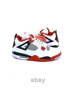 Nike Air Jordan 4 Retro Fire Red 2020 DC7770-160 White Red Black 2020