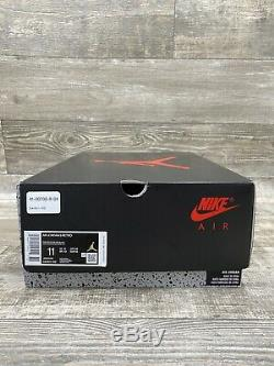 Nike Air Jordan 5 Retro Fire Red 2020 White Black Red Silver Size 11 DA1911-102