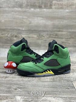 Nike Air Jordan 5 V Retro SE Oregon Green Yellow Black Red 2020 CK6631-307 OG
