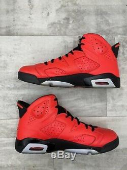 Nike Air Jordan 6 VI Retro Size 13.5 Infrared 23 Black Red Toro 384664-623