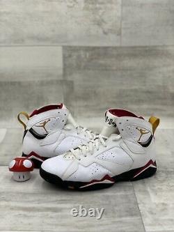 Nike Air Jordan 7 VII Retro Cardinal 12 WHITE BRONZE BLACK RED GOLD 304775-104