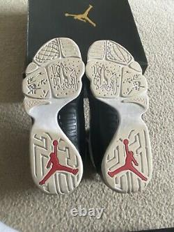 Nike Air Jordan 9 IX Retro OG Space Jam White Black Red 2016 302370-112 Size 9.5