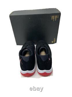 Nike Air Jordan Future Black Red White Bred Retro AT0056 001 Men's Size 11.5
