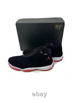 Nike Air Jordan Future Black Red White Bred Retro AT0056 001 Men's Size 12