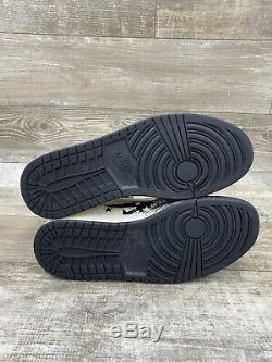 Nike Air Jordan I Retro 1 High DAVE WHITE BLACK RED CEMENT White 464803-001 11.5