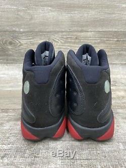 Nike Air Jordan Retro 13 Dirty Bred Black Red White Bulls 414571-003 Size 10.5