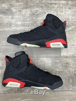 Nike Air Jordan Retro 6 VI 2000 OG Infrared Black Red OG Bulls Sz 10 136038-061