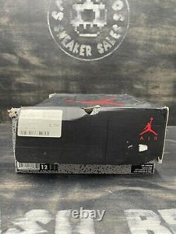 Nike Air Jordan Retro VI 6 Carmine 2014 Size 12 384664-160 Red White Black Bulls