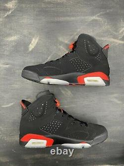 Nike Air Jordan VI 6 Retro Infrared Black Red Size 10.5 OG 384664-060 2019 High
