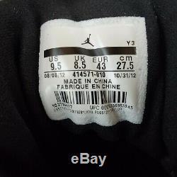 Nike Air Jordan XIII 13 Retro BRED Black Red 414571-010 Size 9.5 Men's NDS