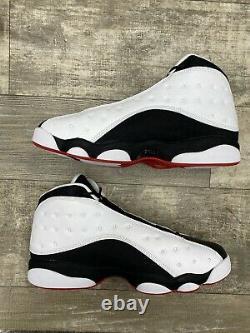 Nike Air Jordan XIII 13 Retro He Got Game Size 13 414571-104 White Black Red HGG
