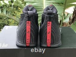 Nike Air Jordan XV 15 Retro Stealth Black/red Size 7 Rare
