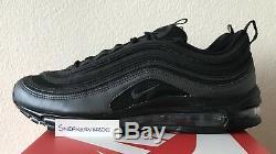 Nike Air Max 97 Eternal Future Hematite Black Red UK 10 921826 005 White DS