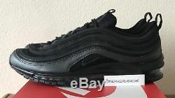 Nike Air Max 97 Eternal Future Hematite Black Red UK 8.5 921826 005 White DS