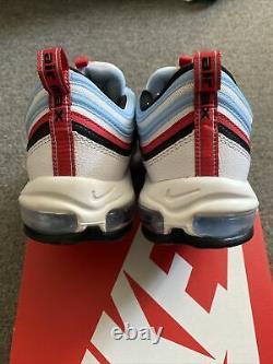 Nike Air Max 97 Gundam Chicago White Black Red Size 12 NEW CW6986-100