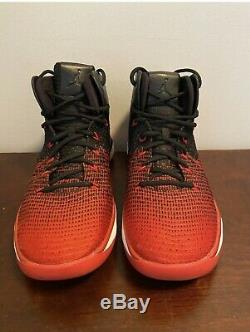 Nike Air Max Jordan XXXI 31 Banned Blk/Red 90 95 97 Bred 11 12 1 Mens Size 13