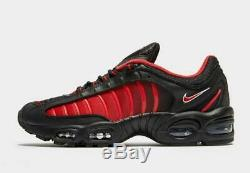 Nike Air Max Tailwind IV Black-Red Men's Trainers Limited Stock All Sizes