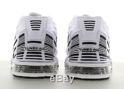 Nike Air Max Tuned Air 3 White-Black-Red Men's Trainers Limited Stock All Size