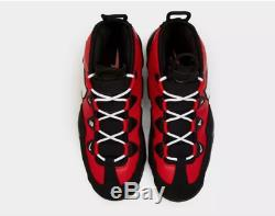 Nike Air Max Uptempo'95 Black-Red Men's Trainers Limited Stock All Sizes