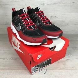 Nike Air Zoom Spiridon Black & Red, 876267-005, Sz UK 10, EUR 45, US 11
