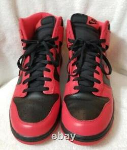 Nike Dunk High'Black Action Red' (317982 038) Men's Size 13 WITH BOX