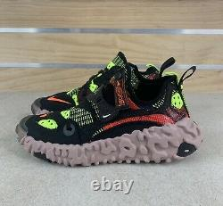 Nike ISPA Overreact Black Red Volt New New Shoes CD9664-001 Men Size 14