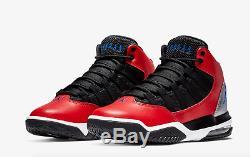 Nike Jordan Max Aura University Red/Black Junior Unisex Trainers Limited Stock