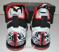 Nike LeBron 17 Graffiti Men's Shoes Size US 8 CT6047-100 NEW