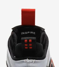 Nike Men's Jordan Aerospace 720 White Black Red Bv5502-100 Brand New