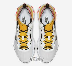Nike React Element 55 White Black Red Gold Mens Trainers Shoes 6 7 8 9 10 11 12