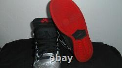 Nike SB Dunk High. Grey/Black/Gym Red. Very Nice only worn 3 times