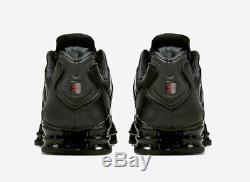 Nike Shox TL Black/Red Trainers UK 11 Brand New In Box
