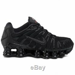 Nike Shox TL Black/Red Trainers UK 9 Brand New In Box