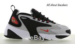 Nike Zoom 2K Black-Red-Grey Men's Trainers Limited Stock All Sizes