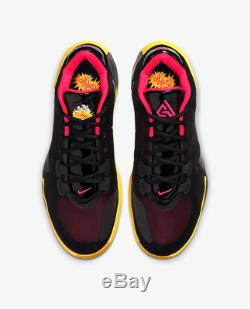 Nike Zoom Freak 1 Soul Glo Black/Red Men's Trainers Limited Stock All Sizes