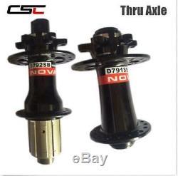 Novatec D791SB D792SB Bicycle Disc Brake Hub MTB Bike Hubset Thru alex or Q/R