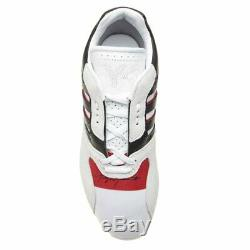 Nwt Authentic Yohji Yamamoto Y-3 White/black/red Zx Run Trainers. Uk 9 (43)