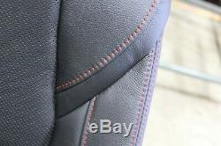OEM 2013-2018 Mazda 3 Passenger-side Sport Seat Black Red Stitch New Old Stock