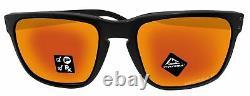 Oakley Holbrook XL sunglasses matte black frame prizm ruby lens OO9417 NEW