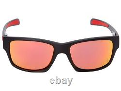 Oakley Jupiter Carbon Scuderia Ferrari Polarized Sunglasses OO9220-06 Black/Ruby