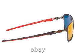Oakley Tincan Carbon Scuderia Ferrari Sunglasses OO6017-07 Carbon/Ruby Iridium