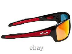 Oakley Turbine Scuderia Ferrari Sunglasses OO9263-39 Polished Black/Ruby Iridium