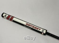 Odyssey Golf RH Toe Up 35 Putter Black Shaft with Black Red Headcover Rare