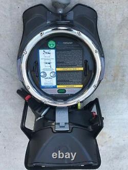 Orbit G3 Black Standard Single Seat Stroller With G3 Car Seat Base (Manual)