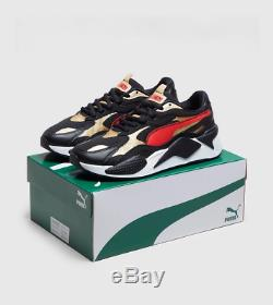 PUMA RS-X³ Black Red White Men's Trainers Limited Stock All Size