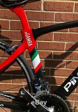 Pinarello DOGMA F10, Black/Red, Size 46.5 (51.5 Standard) SRAM RED Etap