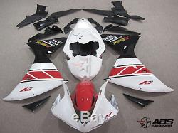RED BLACK Injection Plastic Fairing Fit for YAMAHA R1 2009-2011 US STOCK